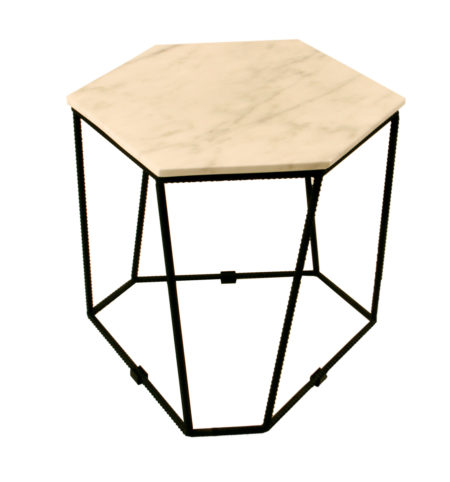 C16060C-SIDE-COFFEE-TABLE-WHITE-MARBLE-TOP